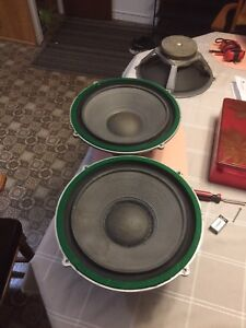 3 Woofer Wharfedale 12 pouces