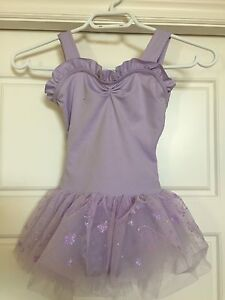 Girls one-piece dance outfit - small