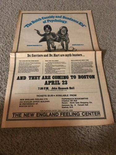 1978 DR. RICHARD CORRIERE JOSPEH HART Print Ad GOING SANE DREAM MAKERS BOOK