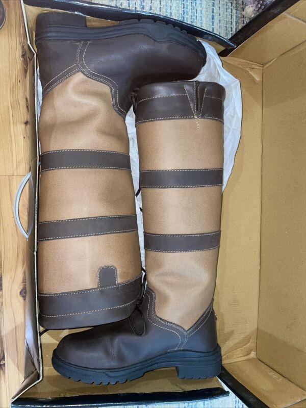 Tuffrider Lexington WaterProof Tall Equestrian Country Riding Boots Women's 9 W