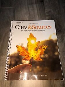 Cites and Sources Fourth edition