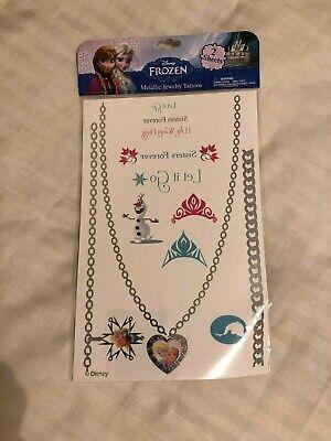 Frozen Tattoo (Disney Frozen Temporary Metallic Jewelry Tattoos: 2 Sheets Per Sealed)