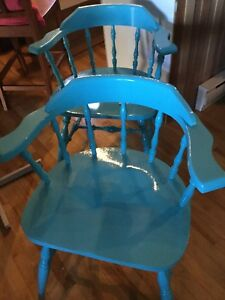 Assorted chairs-