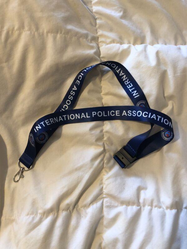 International Police Association printed Safety Lanyard