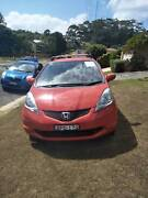 2010 Honda Jazz 5 speed manual. Terrigal Gosford Area Preview