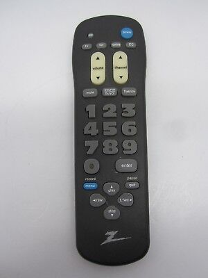 ZENITH TV REMOTE CONTROL TESTED WORKING UNIT MBR3346Z 124-229-01