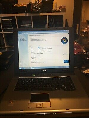Acer TravelMate 2410(Celeron M 1.50GHz, 512MB RAM, 60GB HD, Windows 7, CDRW)