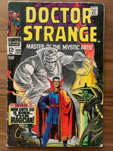 DOCTOR STRANGE #169 1st print MARVEL 1968 Solo Dr. Strange Title academy