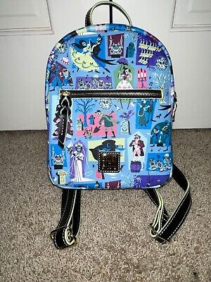NWT Haunted Mansion Dooney & Bourke Disney Mini Backpack