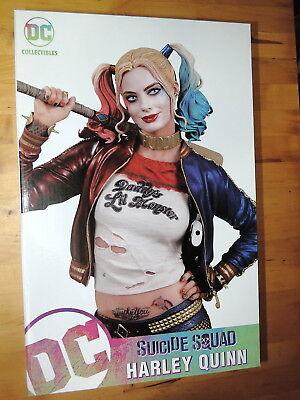 2016 Dc Collectibles Harley Quinn Sexy Margot Robbie Kostüm Statue Figur - Margot Harley Quinn Kostüm