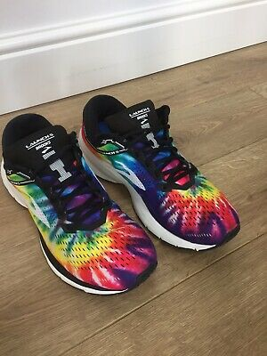 Brooks Launch 5 Size 11 Mens Marathon Series Rare Tie Died Edition Trainers