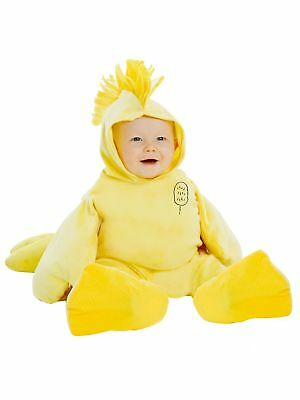 Licensed Peanuts Woodstock Infant Baby Costume 12-18 months Yellow Bird