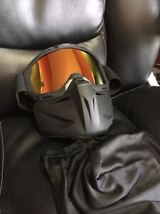 Goggles with face mask new