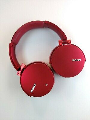 Sony MDR-XB950B1 Extra Bass Boosted Bluetooth Headphones MDRXB950B1 Red