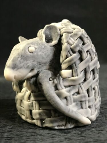 Rat small figurine rodent Gifts Souvenirs from Russia