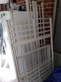 Good condition bunk bed with mattresses