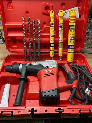 Milwaukee 5317-21 Sds Max Rotary Hammer Kit Case 8 New Bits