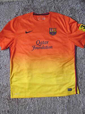 FC Barcelona XXL 2012 / 2013 Kit Football NIKE Shirt Fathers Day Gift POPS 60