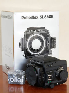 Rollei Rolleiflex SL66SE body only Mint Boxed - Italia - Rollei Rolleiflex SL66SE body only Mint Boxed - Italia