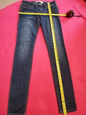 Womens Hollister Skinny Jeans 3L 26 33 Denim 26x33 Pants
