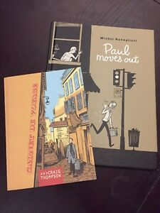 Two Graphic Novels: Paul Moves Out & Carnet de Voyage