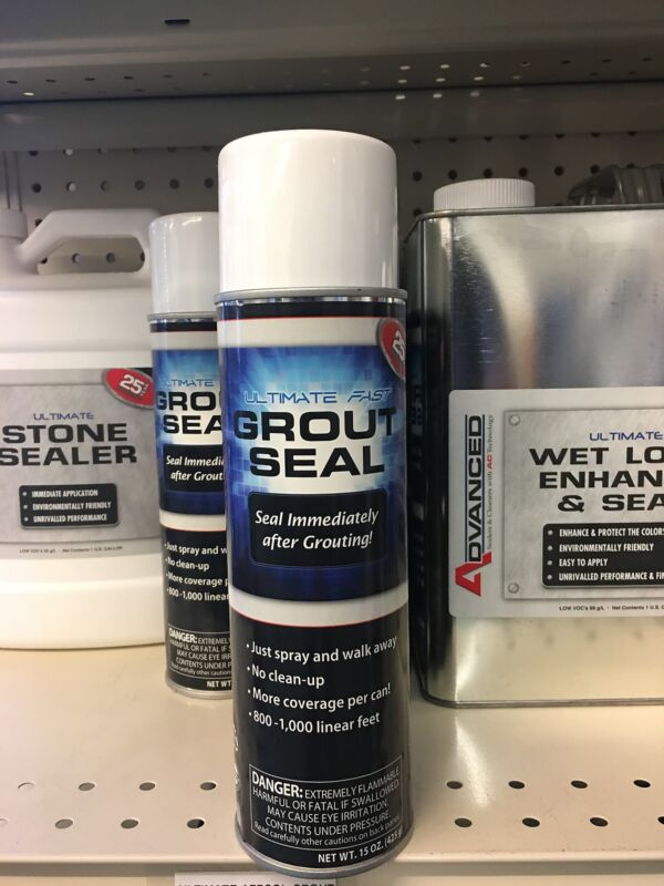 Tile and Grout and Stone Sealer Ultimate Aerosol Sealer