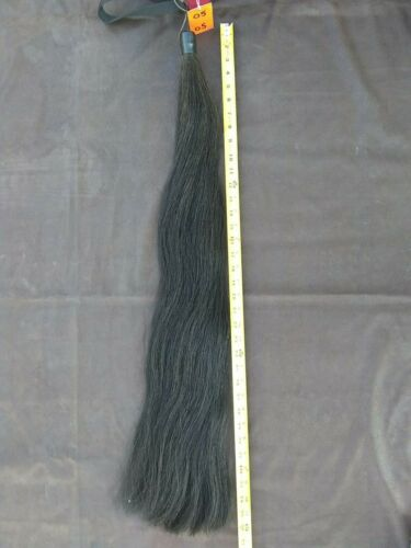 TAIL EXTENSION NEW BLACK W/ HIGHLIGHTS 1/2# BLACK 36 INCHES (BOX 5)