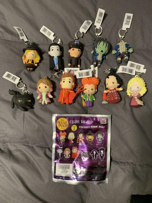 Disney Hocus Pocus Figure Keychain Blind Bag - Series 2 Complete Set