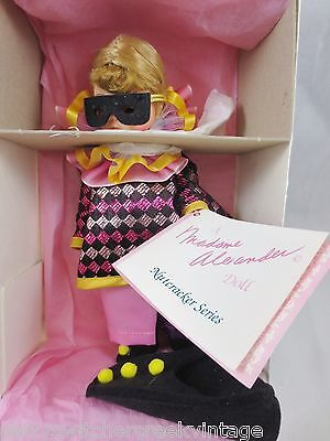 "Vintage Madame Alexander 8"" Doll with Original Box #14574 HARLEQUIN w Costume"