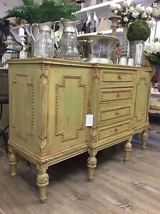 French Louis XVI Style Sideboard Cabinet Hall Table Richmond Hawkesbury Area Preview