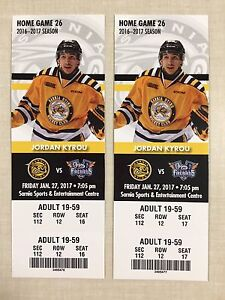 Sarnia Sting Tickets - January 27th