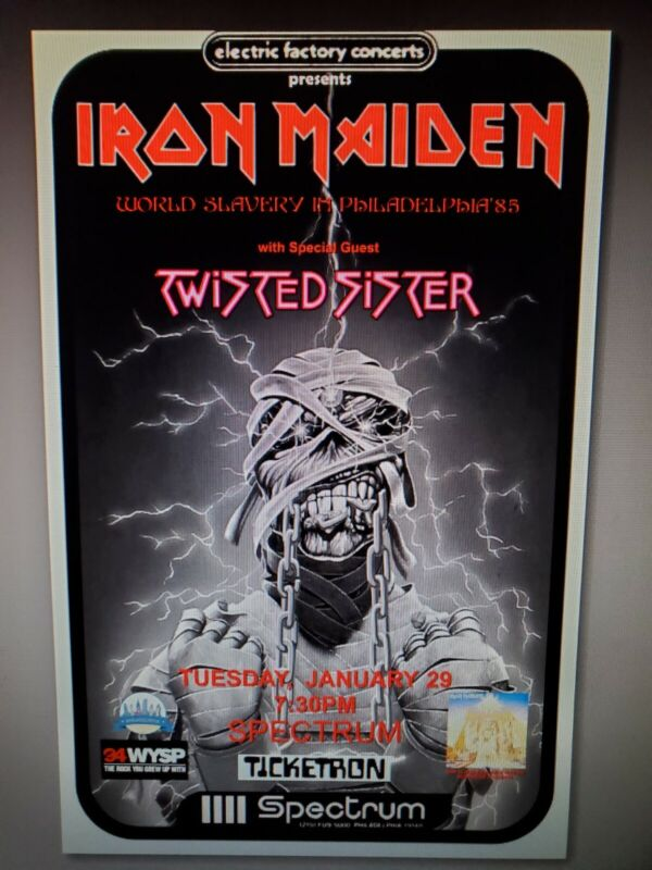 Iron Maiden Slavery In Phily