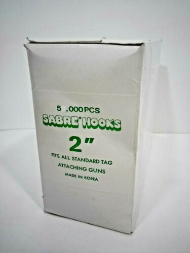 """2"""" Sabre Hook Attachments for Tagging Gun (Loose), 4000-5000 Hooks"""