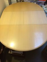 Dining Room Table, extendable with 6 chairs Richmond Hawkesbury Area Preview