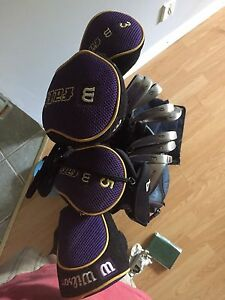 Golf clubs and bag 200 or best offer