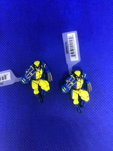 Marvel Wolverine 2 Pack Authentic Crocs Jibbitz (NEW)