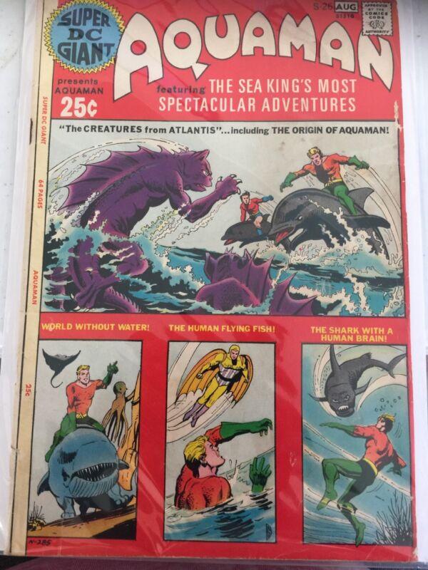 Super DC Giant #S-26 (Jul-Aug 1971, DC) Aquaman S-26
