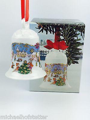 Hutschenreuther Weihnachtsglocke Porzellanglocke Glocke 1987 mit Verpackung NEU