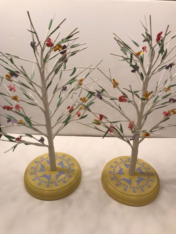 Hallmark Spring Easter Wire Display Tree - Set Of 2