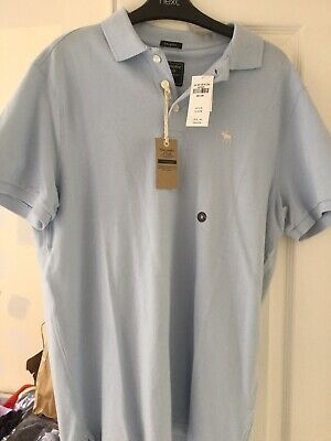 Mens Abercrombie & Fitch Polo Shirt - Size Medium - Brand New...