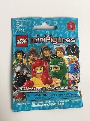 LEGO Minifigure Series 5 #8805 - Pick Choose - NEW SEALED