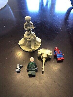 Lego Marvel Superheroes Spider-Man Spider Crawler Vulture Minifigure 76114