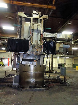 48 Gray Vertical Lathe Vbm Vtl Cnc 72 Und Rail 54- 56 Swing Range Warner Swasey