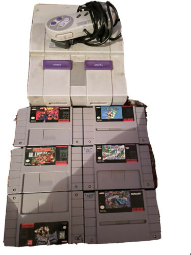 Super Nintendo Console With Games - $200.00