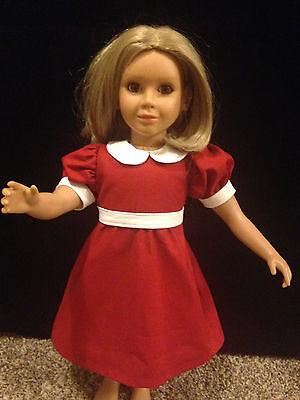"ORPHAN ANNIE   DRESS  made to fit  the 23"" MY Twinn DOLL"