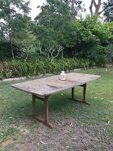 Teak Outdoor Table Northbridge Willoughby Area Preview