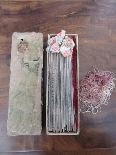 ~Antique Embroidery Threads, Brainerd & Armstrong Asiatic Filo Selle, HUGE LOT~