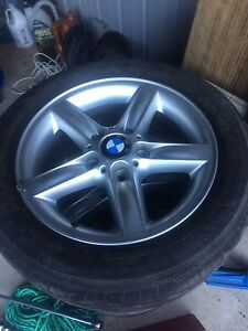 Bmw/ commodore wheels and tyres Guanaba Gold Coast West Preview