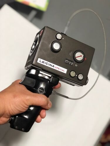 STITZ Pistol hand grip and shutter release cable for Leicina Special Super 8mm