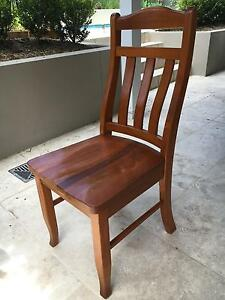 5 x PINE DINING CHAIRS $20 each Bardon Brisbane North West Preview